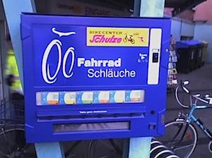 Fahrradschlauchautomat