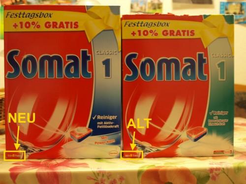 Somat 1 - Neu und Alt