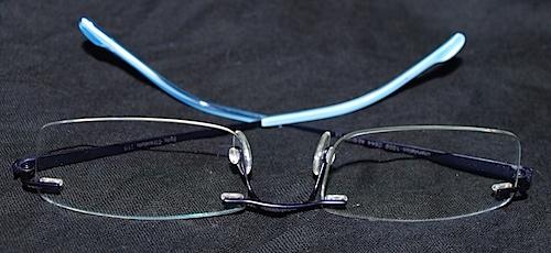 Andrés neue Brille