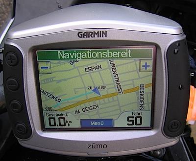 Garmin Zumo 400
